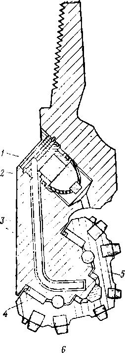 3 — лапа долота;